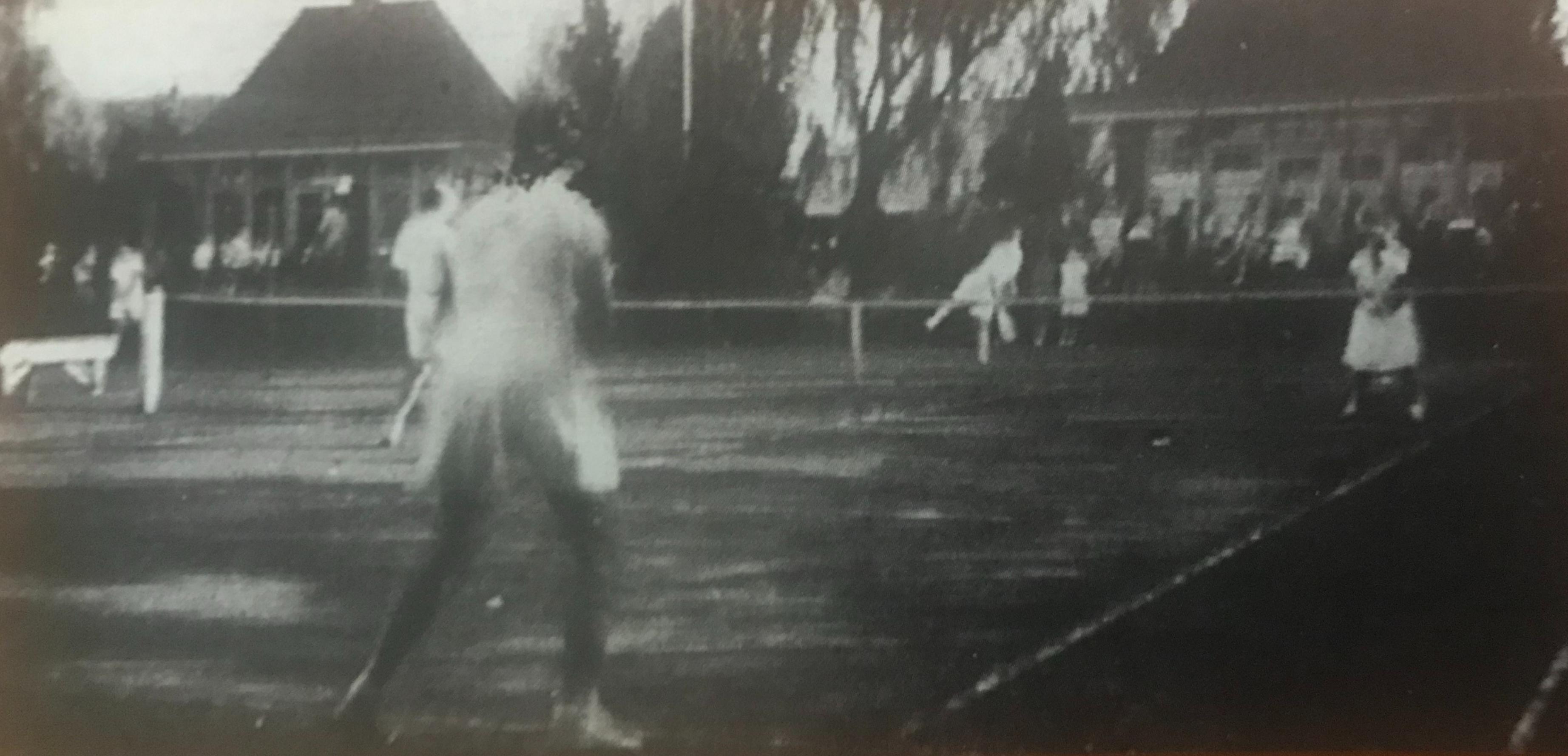Tennisbanen van Janssens-Dijcks