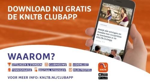 KNLTB ClubApp GTR Tennis Padel