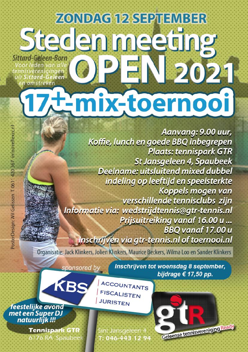 Tennis GTR Limburg Geleen Beek