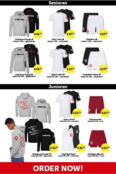 Nieuwe kledinglijn tc IJburg 2020