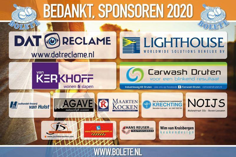 Sponsoren Bolete Open 2020